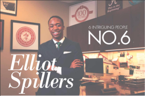 6 Intriguing People, No. 6: Elliot Spillers